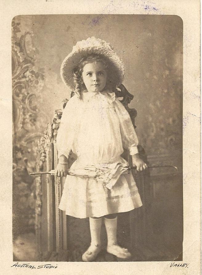 Thelma Grace circa 1908